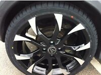 Wolfrace Assassins Alloys 4 stud