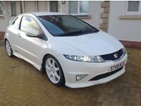 Honda Civic Type R FN2 Championship White Limited Edition 2009 (58) with satellite navigation