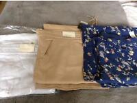 Ladies Linen Blend Trousers
