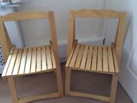 2x Folding Chairs