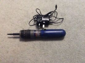 Blue point lighted cordless screwdriver