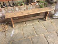 Antique stunning bench