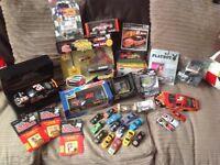 Various diecast NASCAR cars