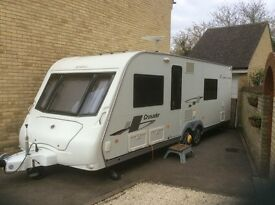 Touring Caravan for sale Elddis Crusader Super Cyclone 2009 Twin Axle