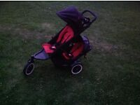 Phil and ted bouble pram