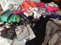 Large bundle of girls clothes ( 38 items) age 11/12 clothes- Nike, RL, juicy couture, Abercrombie,