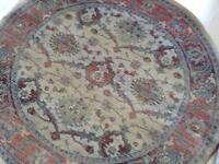 Round next rug