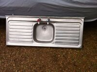 Stainless Steel Kitchen Sink Double Drainer
