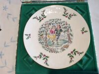 Royal Doulton Christmas plate 1977