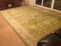 Very Large Room Size Rug in Excellent, As New Condition. 10' x 13'. Bristol.