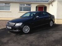 2008 Mercedes C220 CDI Elegance ++++ automatic +++ 1 owner FSH ONLY 68K +++