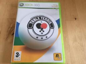 Xbox 360 Table Tennis Game
