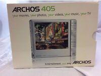 Archos 405 Portable Media Player Boxed Silver