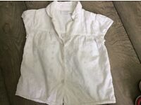 White Company Young Girls Shirt. Bargain. £5