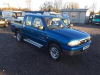 Mazda double cab 4x4 diesel pick up immaculate 12 months MOT bargain no VAT