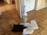Upright and Handheld Steam Cleaner