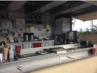 Burger trailer ready to go, good condition, generator & Gas bottles included