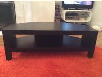Black ikea lack TV stand