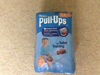 NEW unopened Huggies pull up learning pants
