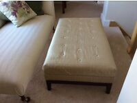 Fabulous footstool, ottoman, occasional table