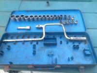 Vintage Elora sockets ,west German 1/4 drive