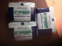 INCONTINANCE PADS PACK OF 3x36