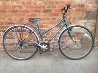 Raleigh pioneer ladies hybrid commuter type bike, in good order