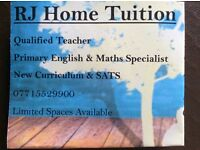 Tutor - Primary Tuition - Maths, English, Science, Phonics, Reading and SATs boosters