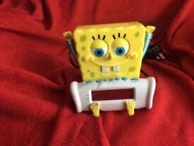 Spongebob Squarepants Radio Alarm Clock