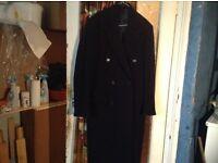 Beutiful woollen cashmere coat ,medium size,£65.00