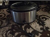 Morrisons Family Size Slow Cooker, vgc - West Kirby, Wirral