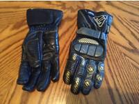 Triumph classic style leather - Kevlar gloves