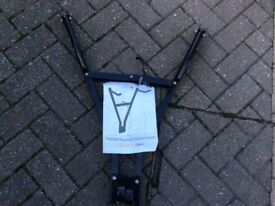 Tow ball bike carrier it carries 2 bikes grab your self a bargain