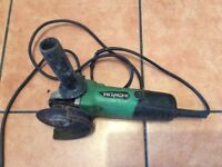 "GOOD CONDITION FULLY WORKING HITACHI 4"" ANGLE GRINDER SEE PHOTOS"