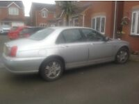 Silver rover 75 53 plate. Please read description