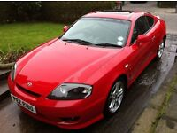 Hyundai Coupe 2006 2.7 V6 Low mileage Great Price