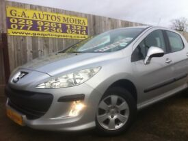 **2009 PEUGEOT 308 1.6 HDI ** LOW MILES ** EXCELLENT EXAMPLE !!!