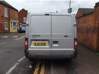 transit van in good cond for sale,,clean in and out .