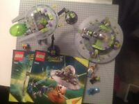 2 x Lego alien conquest sets