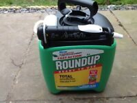 Roundup total weedkiller pump and go 5 ltr