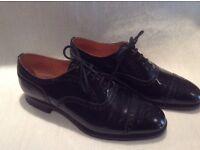 GENUINE Church's 'The Diplomat' black calf leather shoe