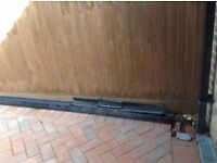 Osma guttering which is no longer available in shops.