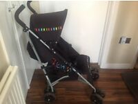 Buggy/pushchair with raincover