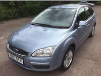 2007 57 Ford Focus automatic Ghia 76,000 miles new mot may Px