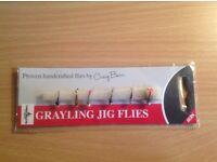 Grayling Jig Flies by Craig Barr