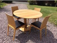 Habitat dining table & 4 chairs
