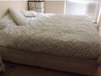 Vispring Super King Size Bed with 4 drawers & bedding!