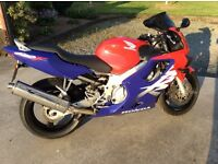 1999 Honda CBR600F, immaculate condition with low miles