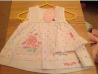 Baby clothes all new, smoke and pet free home,
