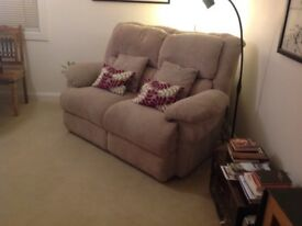 2seater soft cord sofa